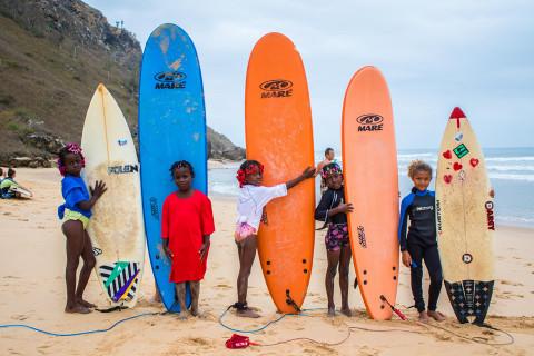Kionda Surf School Angola